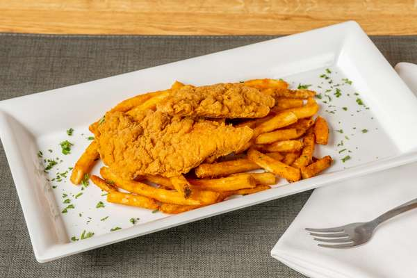 Tenders with French Fries