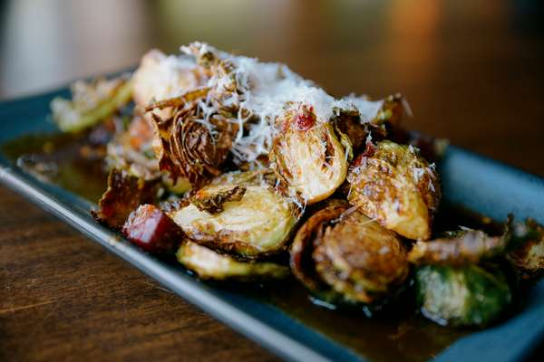 FIRE ROASTED CALABRIAN BRUSSELS SPROUTS