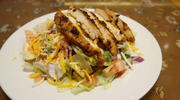 Blackened Salad