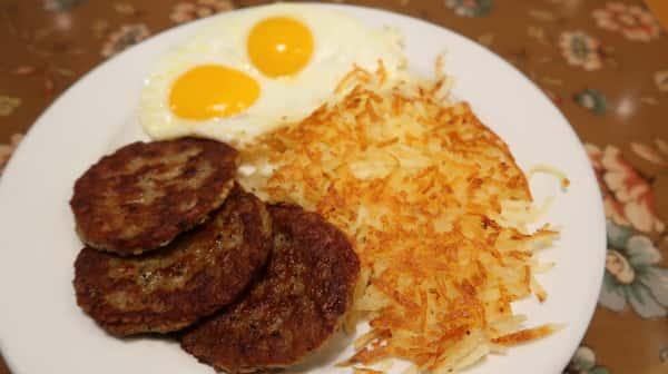 Sausage & 2 Eggs