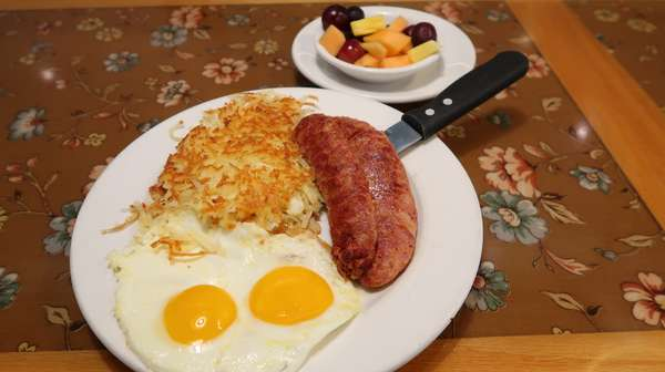 Andouille Sausage & 2 Eggs
