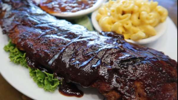 Full Rack O' Baby Backs Dinner
