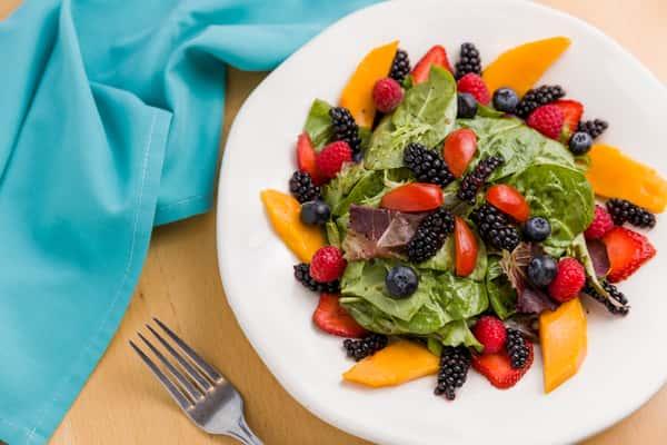 turquoise salad