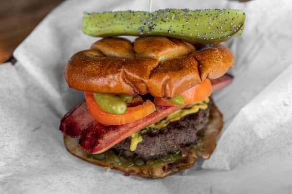 Chicago Dog Burger