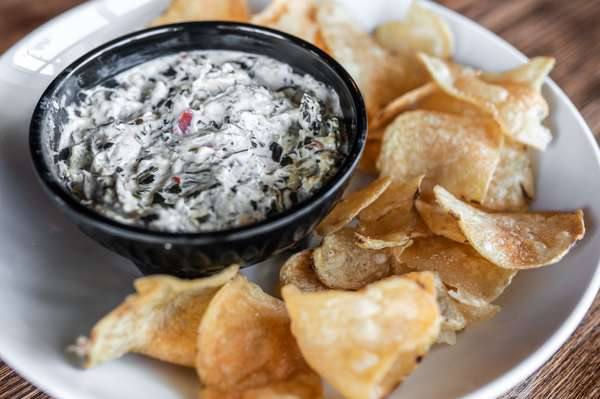 Spicy Spinach Housemade Dip