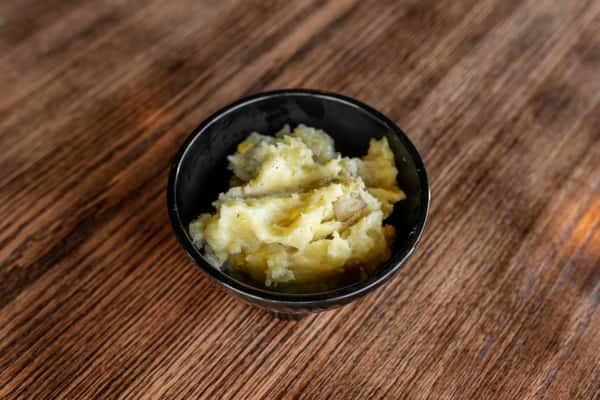 Roasted Corn Garlic Mashed Potatoes
