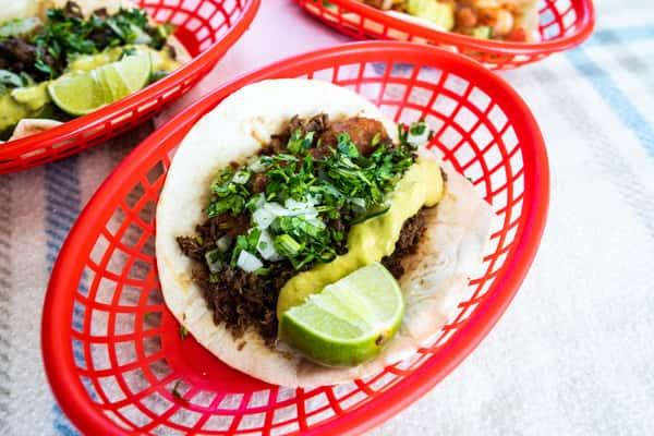 Barbacoa Taco