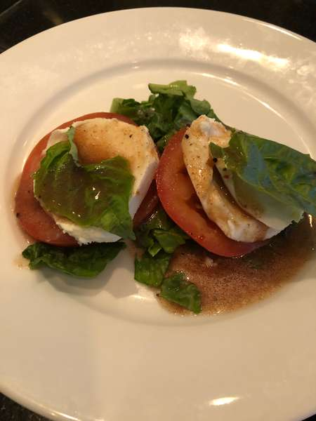 Burrata & Vine Ripened Tomato