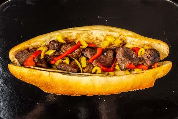 Uncle Michael's Marinated Steak Tip Sub