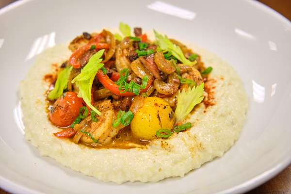 Creole Shrimp and Grits