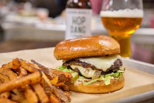 *Bison-Wagu Beef Smash Burger