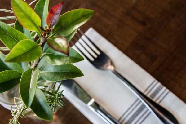 details - fork knoife flower