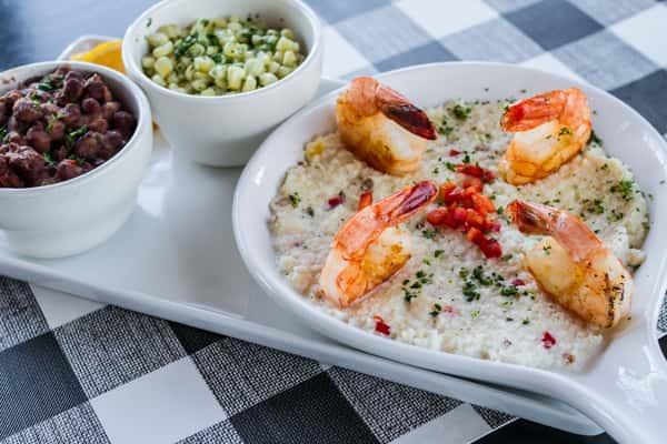 Farmtable Shrimp N Grits*