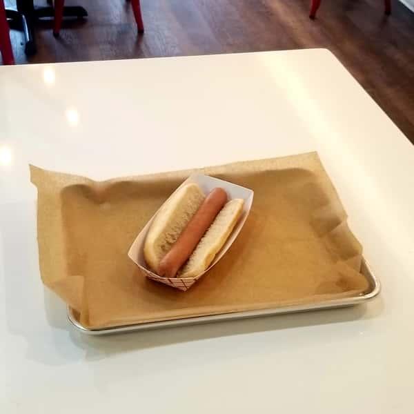 PLAIN HOT DOG
