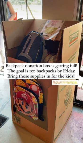 Backpack Donations