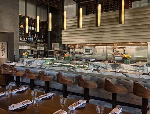 q sushi interior