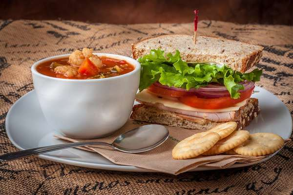 Half Sandwich & Soup of The Day