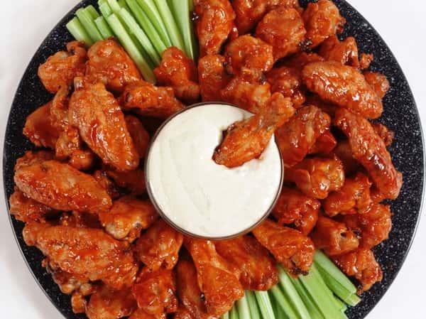 Buffalo Wing Platter