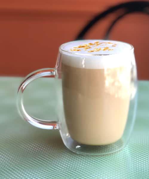 Golden Turmeric Honey Latte
