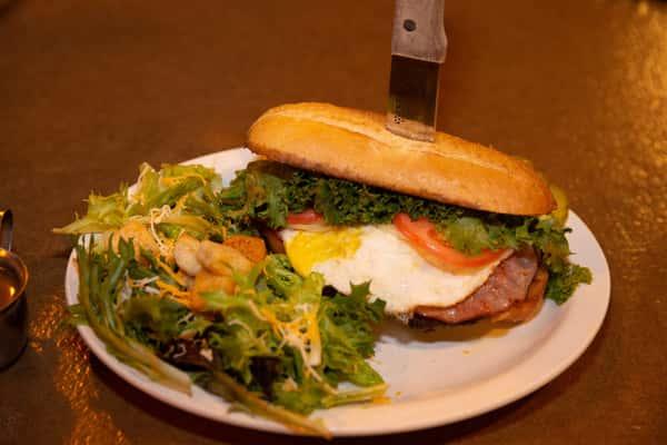 Barnyard Burger*