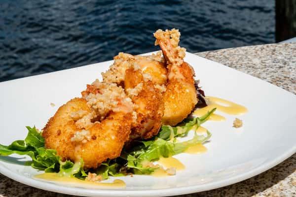 Honey Macadamia Shrimp
