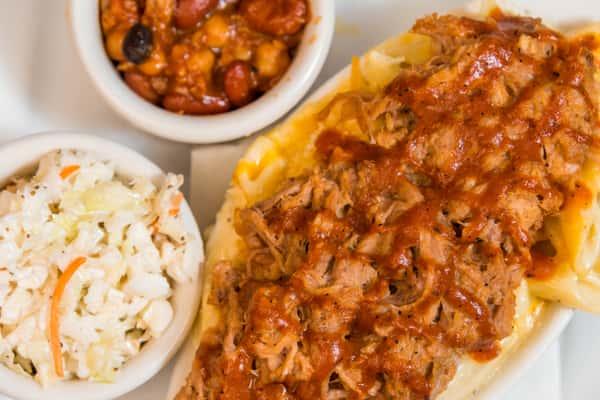 BBQ Pork Mac & Cheese