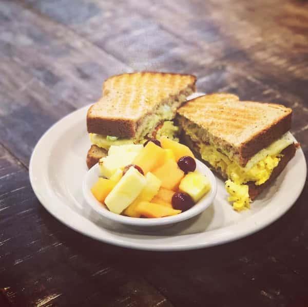 Bobby J Breakfast Sandwich