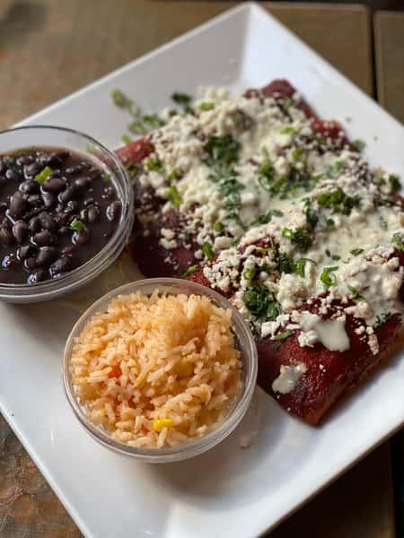 Traditional Enchiladas