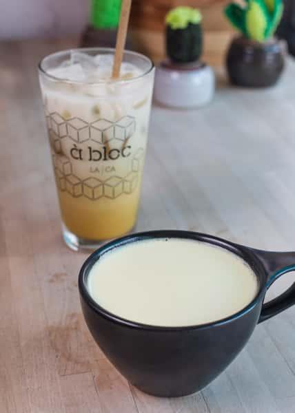 ginger tumeric latte
