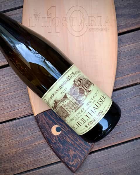 Pinot Bianco, St. Michael Eppan 'Schulthauser', Alto Adige 2017