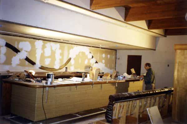 bar under costruction