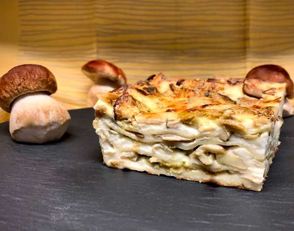 Lasagne ai Funghi per Due (takeout only)