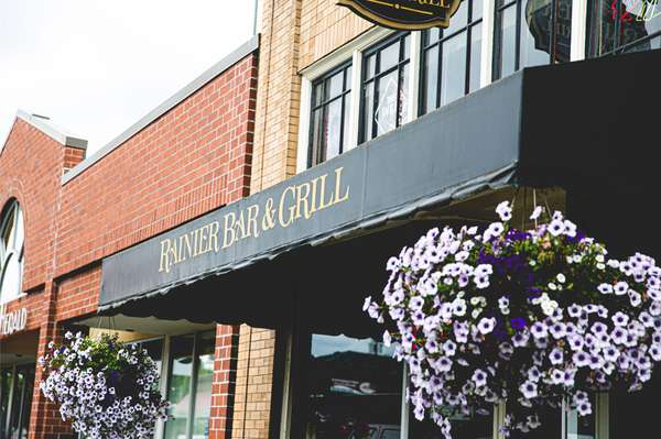 Awning at Rainier Bar & Grill