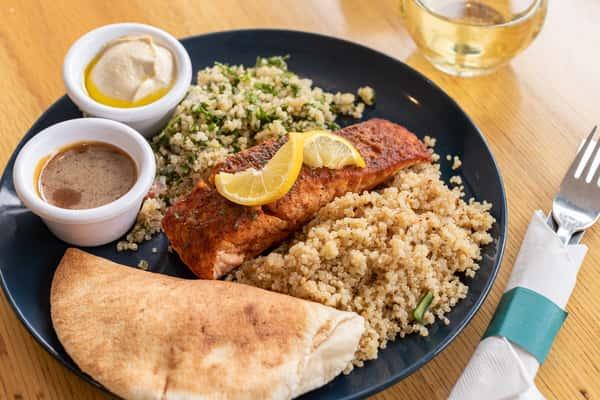 Salmon W/ Harissa Butter