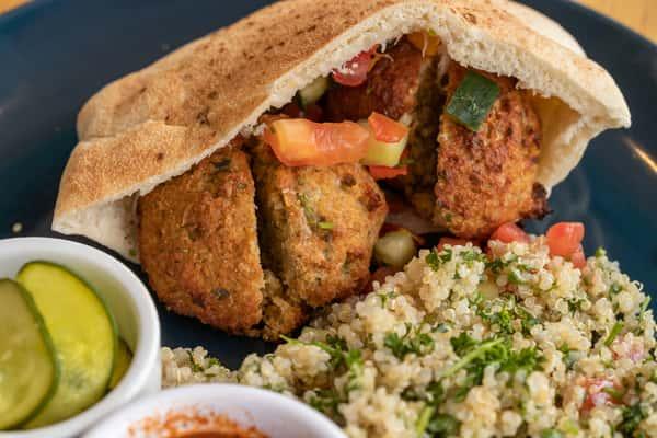 Air-Baked Falafel - Pita