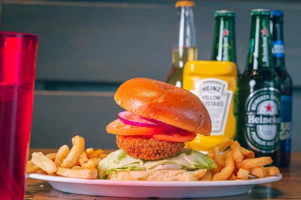 Masala Burger - Plant Base