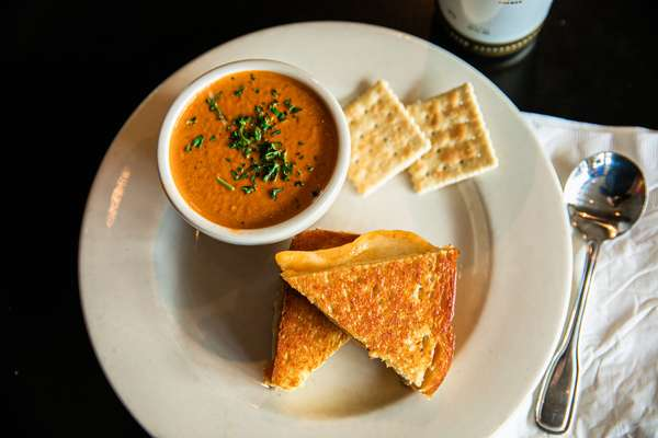 1/2 Grilled Cheese & Cup Tomato Bisque
