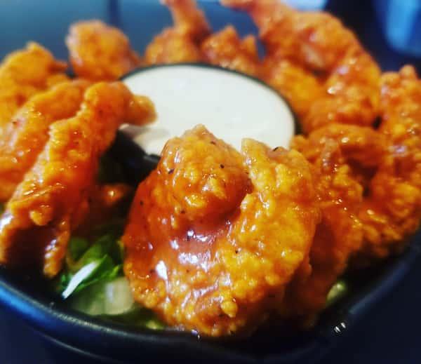 Buffalo Popcorn Shrimp