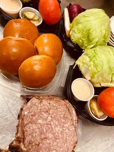 Burger Kit for 4
