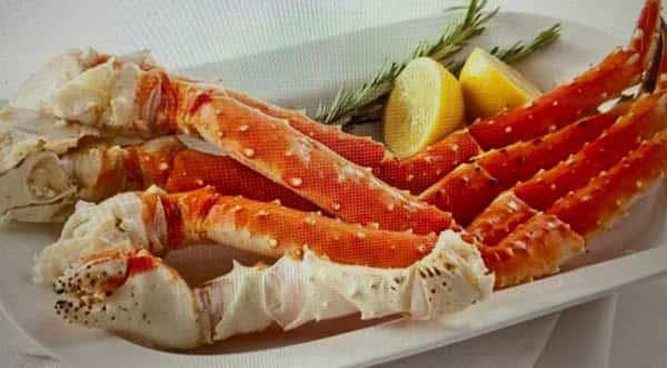 King Crab Legs per LB