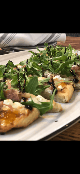 Chefs Grilled Flat Bread of the Day