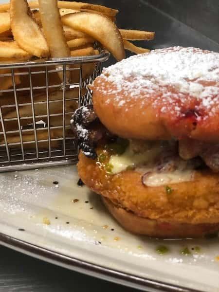 Jelly Donut Chicken Sandwich
