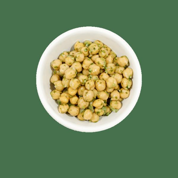 Pesto Chickpeas