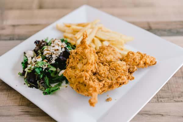 boneless chicken plate
