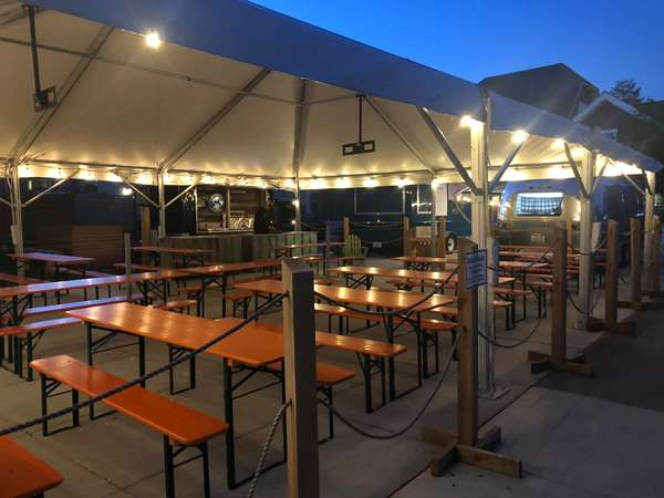 tables at night