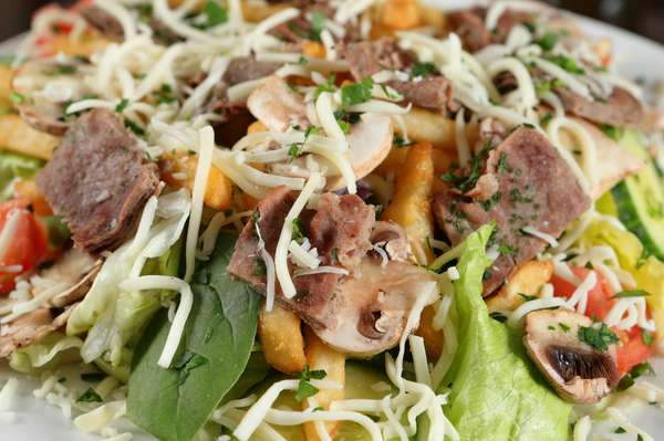 Steak Salad (Catering)