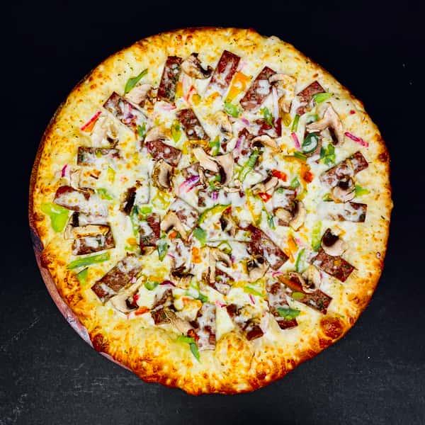 Steak Pizza