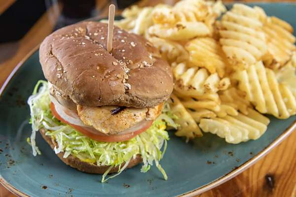 #2. Grilled Chicken Sandwich Combo