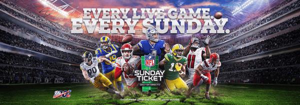 NFL sunday ticket graphic