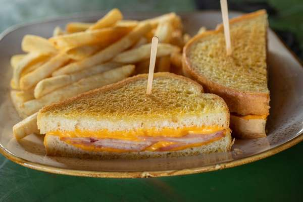 #5. Grilled Ham & Cheese Combo